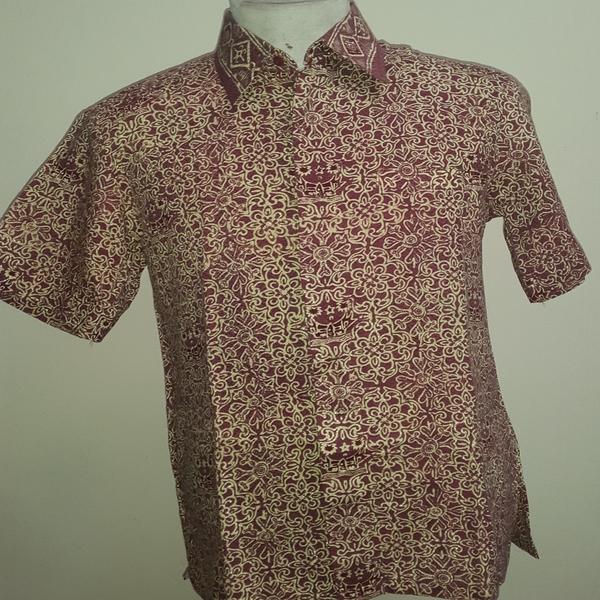 Kemeja Batik Dobi Cetak Minang Inaaya