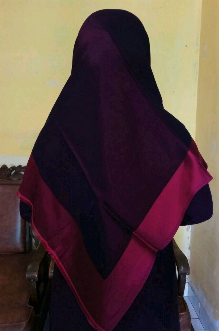 Jilbab Turki Fusia vs Purple