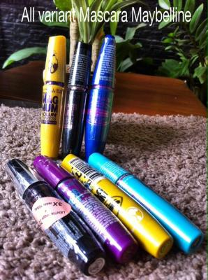All Varian Mascara Maybeline