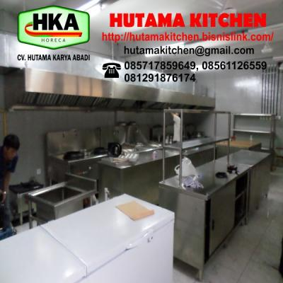 DEFINISI STAINLESS STEEL KITCHEN EQUIPMENT