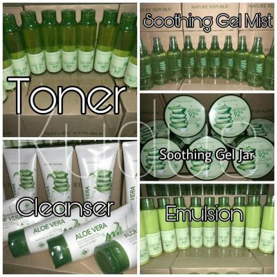 Jual Nature Republic Soothing & Moisture Aloe Vera 92% Soothing Gel 083861819905