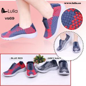 Sepatu Anyam Lulia Wedges VS69