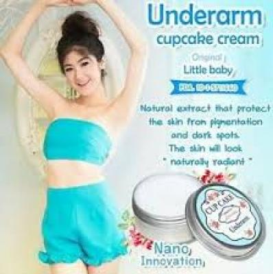 UNDERARM CUPCAKE CREAM BY LITTLE BABBY ORIGINAL