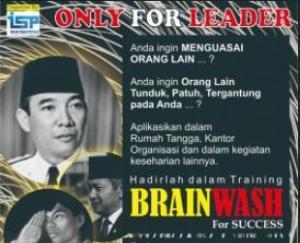 brainwash, Internalisasi Budaya perusahaan, cara menjadi leader, cara menjadi pemimpin