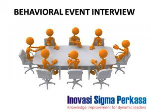 Pelatihan Behavioral Event Interview