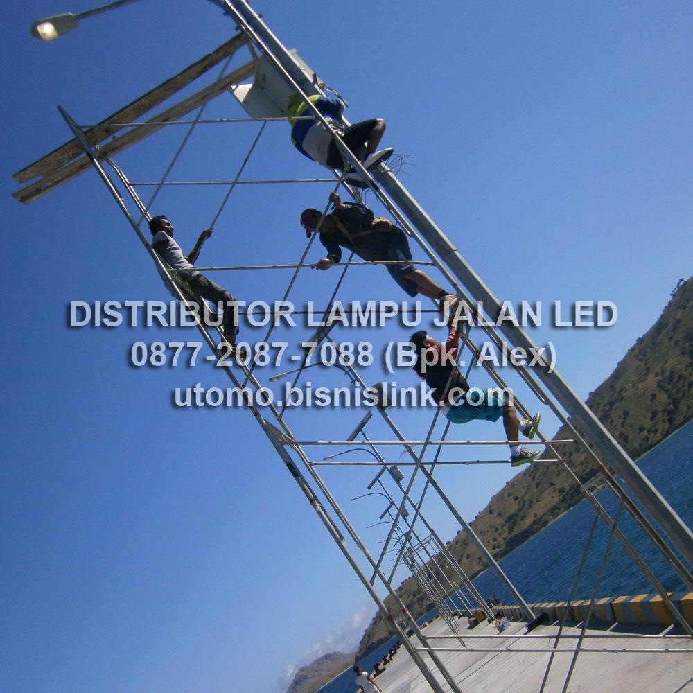 Distributor Lampu Penerangan Jalan Led (PJU) Tenaga Surya