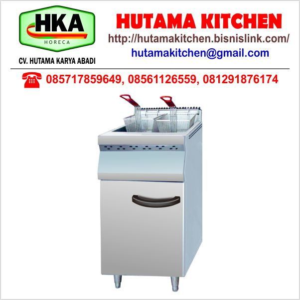 HUTAMA KITCHEN MENJUAL GAS DEEP FRYER LOW PRESSURE