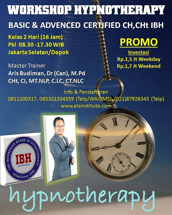 Coaching, ICF, Loop Indonesia, Cherish Indonesia, Vanaya Institute, NLP Coach Association, Sertifikasi Coach, ELS Institute, Aris Budiman, Aris Budiman, M.Pd, sertifikasi, Diklatsertifikasi, IBH, Hypnosis, PRAHIPTI, PKHI, Hypnotherapy, Hipnotherapi, Worksh