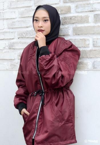 jaket bomber wanita jaket muslimah 2017 6a04d8e751