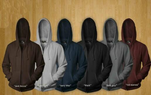Jual Sweater Polos Hoodie Zipper Murah