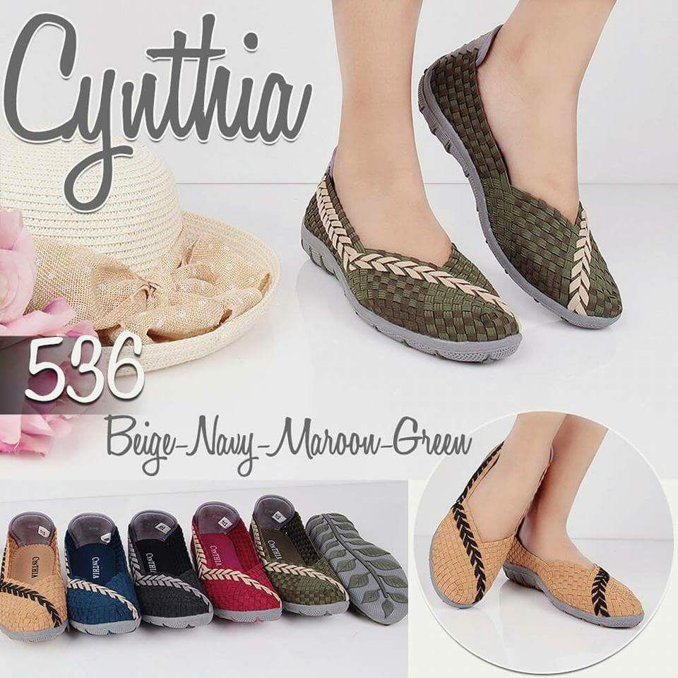 Jual Sepatu Anyam Cynthia