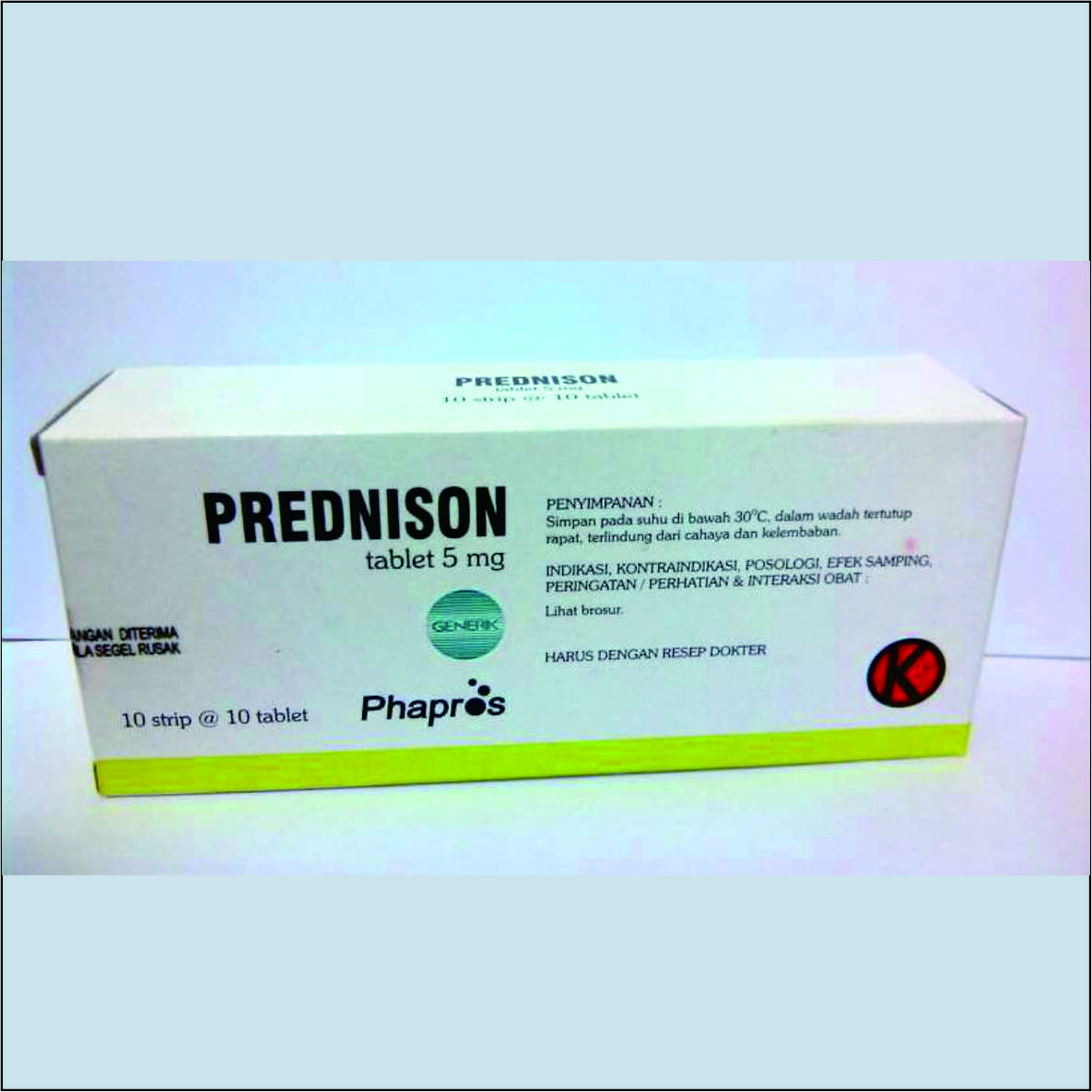 Prednisone 5 Mg Obat Untuk Peradangan Mengatasi Pastribu Herbal