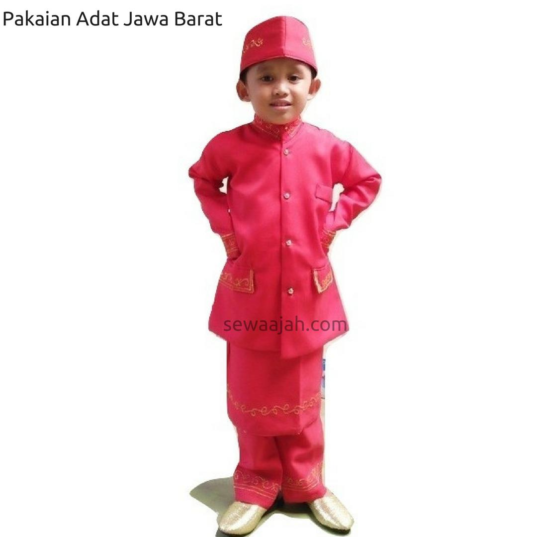Sewa Pakaian Adat Jawa Barat Anak