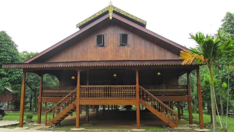 Desain Arsitektur Rumah Adat Tradisional Gorontalo Desain Rumah Adat